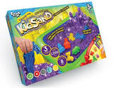 """Набір креативної творчості """"Кінетичний пісок""""KidSand"""" 1200г+пісочниця"""